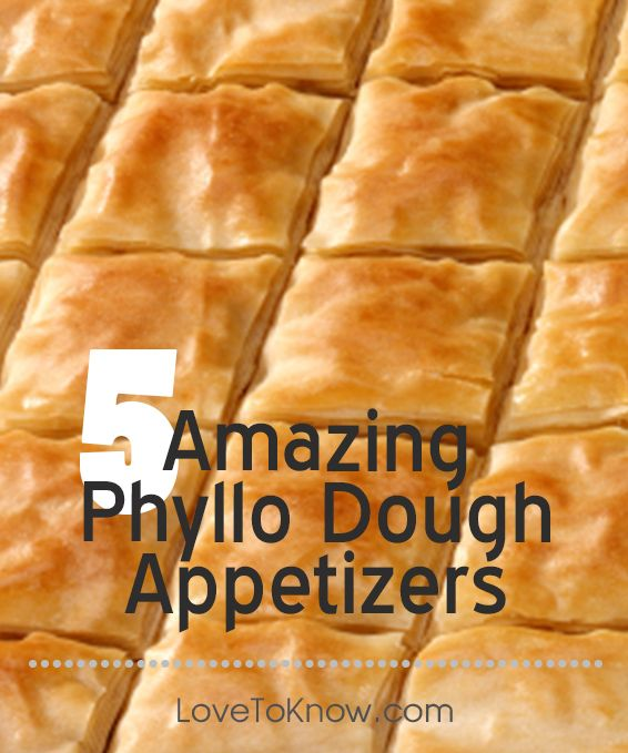 Phyllo dough appetizers don 39 t need to be difficult while for Phyllo dough recipes appetizers indian