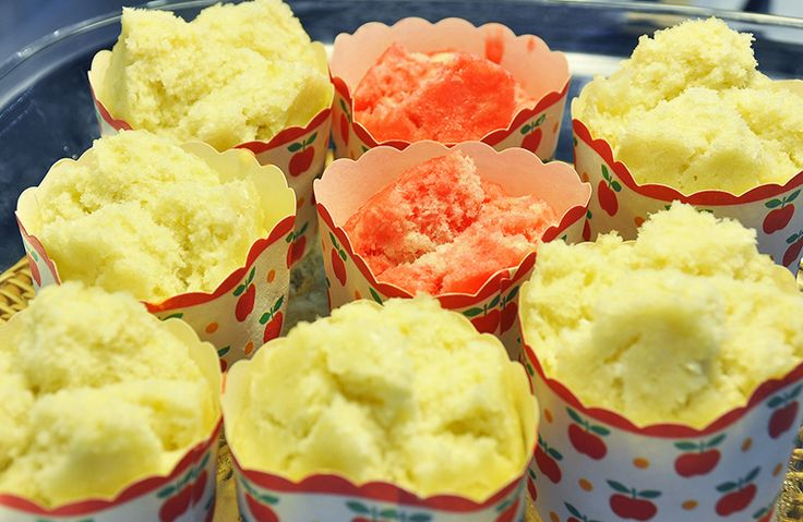 Kue mangkok means 'cake in a bowl. I use ice cube cups for mine. I get them at a specialist cooking shop or sometimes at the supermarket.