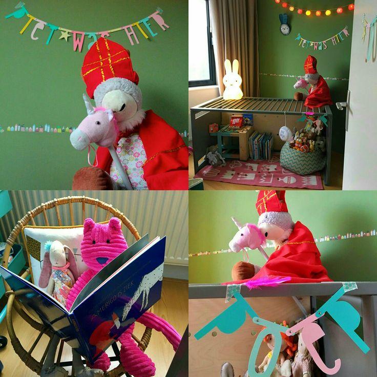 Verrassing: Sint en Piet waren hier. Wil je je kind eens op een andere manier verrassen met Sinterklaas?  #leukmetkids #Sinterklaas @cullersma