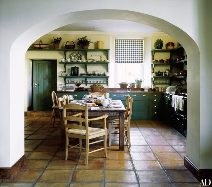 Irish Kitchen Designs Part - 29: John Hurt Called This 18th-Century Irish Estate Home. Farmhouse IdeasFarmhouse  KitchensCountry ...