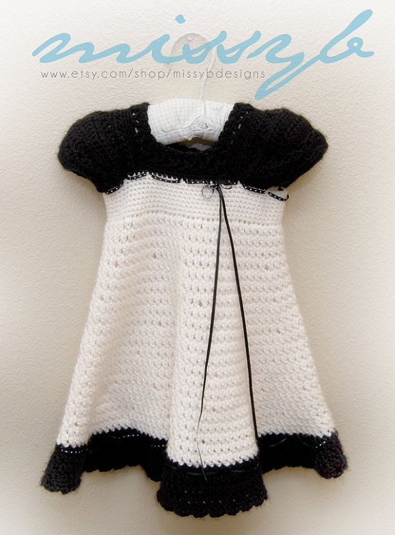 Cute Crochet Dress Pattern - Carlotta Dress with Sleeves ...