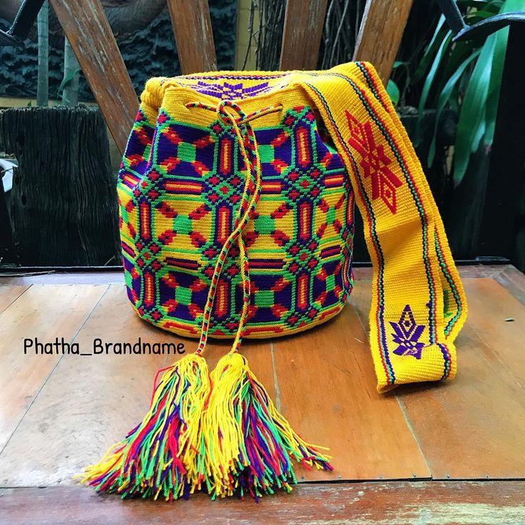 "6 отметок «Нравится», 2 комментариев — @phatha_brandname в Instagram: «""พร้อมส่ง ""New กระเป๋า Wayuu ของแท้ นำเข้าจากประเทศ โคลอมเบีย…»"