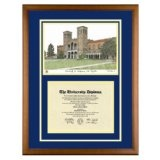 University of California Los Angeles Diploma Frame with UCLA Art PrintBy Old School Diploma Frame Co.