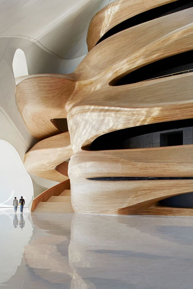 Harbin Opera House #architectsjournal #architecturaldesign design inspiration, architecture, luxury design . Visit www.memoir.pt
