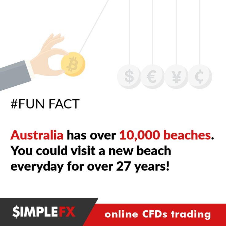 Finally, the weekend is almost here! But even then you can trade crypto pairs at SimpleFX: https://simplefx.com/ Or go to Australia ;)#fun_fact #funfact #forex #forextrading #trading #trader #money #invest #investing #bitcoin #bitcoins #namecoin #ethereum #cfd #indices #commodities #gold #cryptocurrency #fun #funny #hilarious #bizarre #fact #eurusd #gbpusd #oil