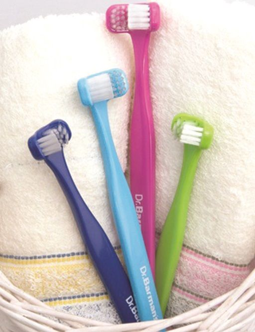"""""""Due to my daughter's fine motor skills being poor, tooth brushing has always been problematic for her. So, I bought her your Dr Barman's Superbrush a while ago to try.  What a godsend, really pleased with the results."""