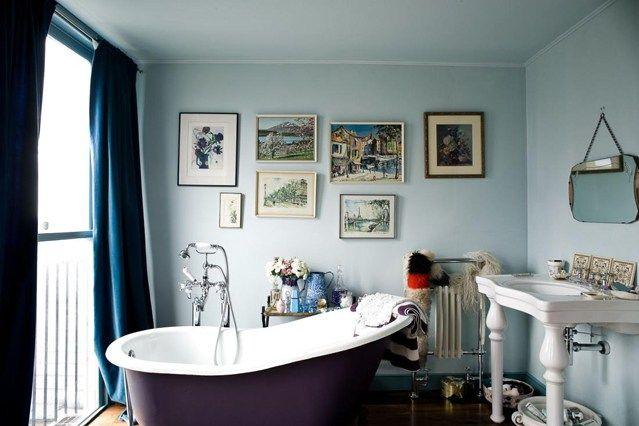 Aubergine baths again...