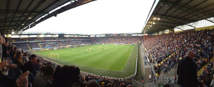 Rat verlegh stadion Breda Yellow Army ⚫️⚫️⚫️