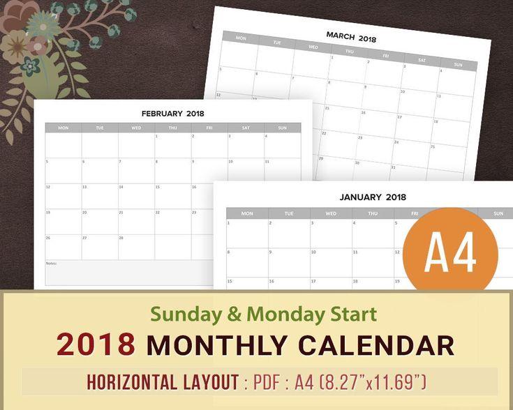 Best  Calendar  Template Ideas On    Calendar