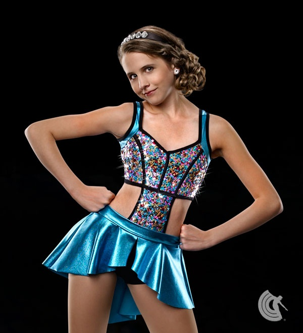 Would make a cute jazz costume.