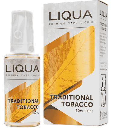 Liqua eLiquid - Traditional Tobacco 30ml Italian Flavours