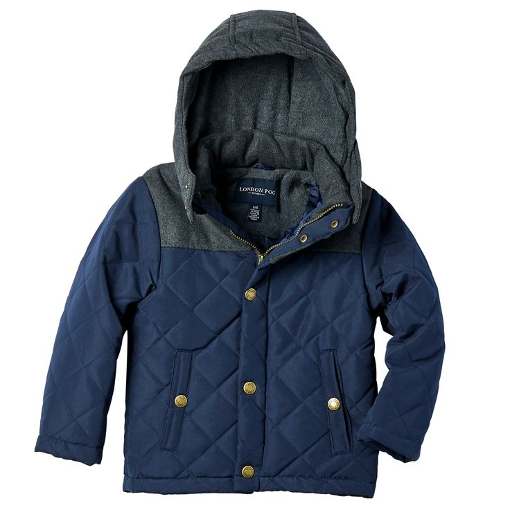 London Fog Toddler Boys' Quilted Jacket