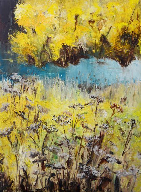 Sylwia Giza Źródełko młodości, olej na płótnie 60x80 cm