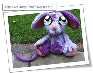 Zazzle the mouse ~ free pattern ᛡ