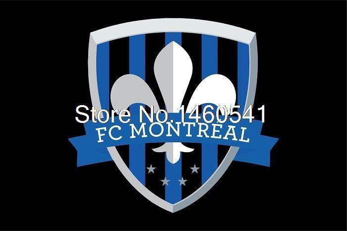 ФК Монреаль Флаг 3ft x 5ft Полиэстер Северной Американский Футбол USL Pro Размер Баннера 4 144*96 см QingQing флаг