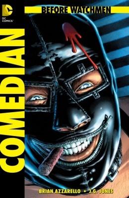 """""""Comedian"""" por Brian Azzarello y JG Jones"""