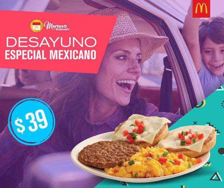 Aprovecha los cupones del Martes de McDonalds para hoy martes 24 de octubre: desayuno especial mexicano $39 y hamburguesas Big Mac + Cuarto de Libra $60
