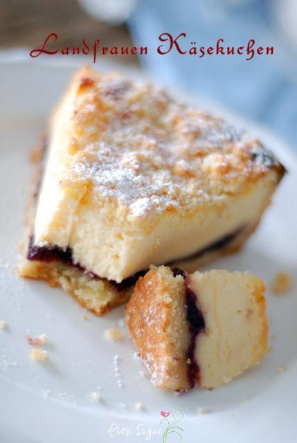 175 g kalte Butter 300 g Mehl 150 + 150 g Zucker 5 Eier Salz 1 Glas rote Konfitüre (ca. 250 g) 750 g Quark (40%) 1 Päckchen Vanillepuddingpulver (zum Kochen) 1 Bio Zitrone