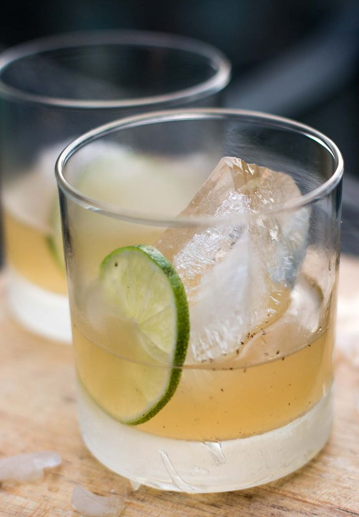 A superb cocktail shaken with mezcal, sherry and lime, a perfect summer (or anytime) refresher that's sure to hit the spot!