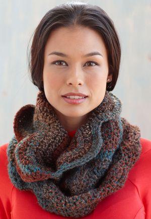free, infinity scarf crochet pattern
