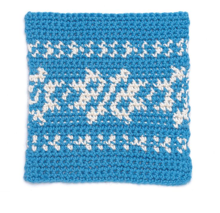 20 best Fair Isle Crochet images on Pinterest   Crochet stitches ...
