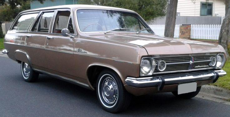 '66 HR Holden Station Wagon