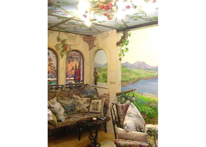 Декоративная роспись стен | Ремонт и стройматериалы для квартиры и дачи