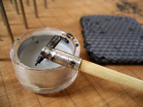 Kistka: bees wax pen stylus