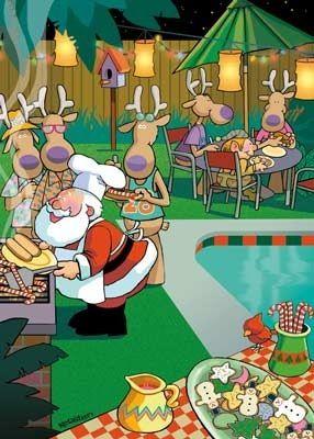 Christmas B.B.Q.