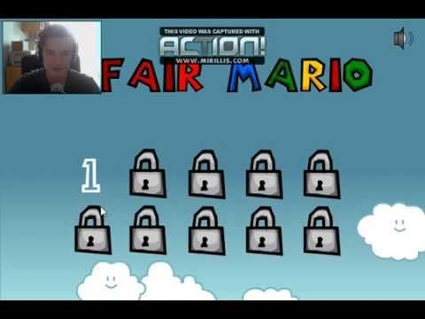 Unfair Mario - THIS GAMES TAKES NUTS TO PLAY!
