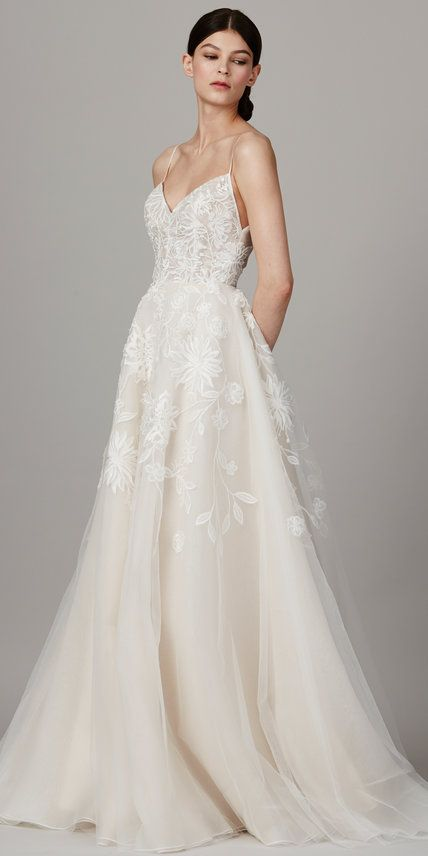 Beautiful The Prettiest Spring Wedding Dresses from Bridal Fashion Week