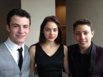 Dylan Minnette Ryan Lee & Odeya Rush