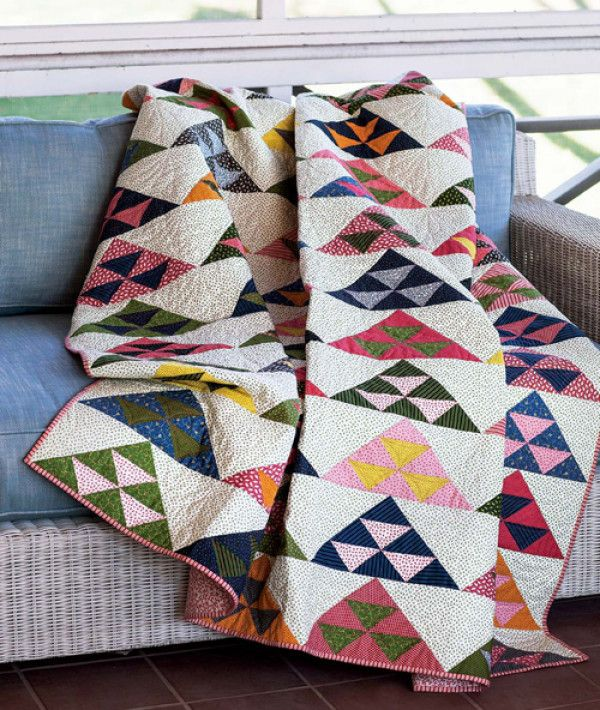 Pomegranate Mountains Quilt Pattern Download Inspiration Color