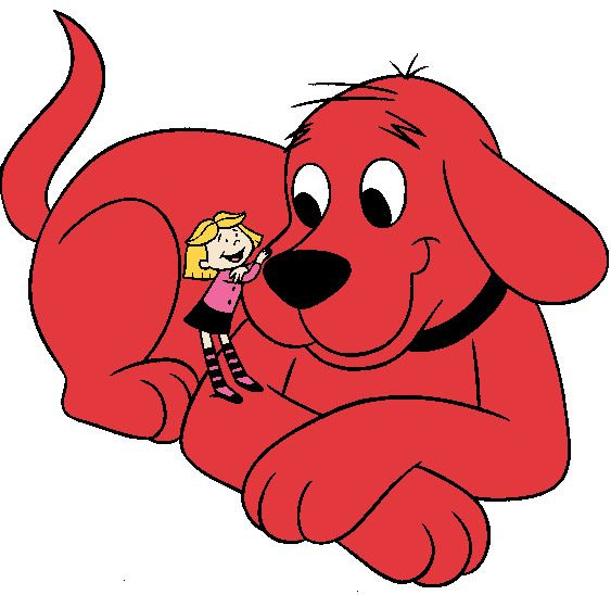 Clifford the Big Red Dog clip art | Clifford the Big Red ...