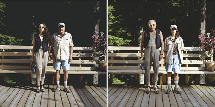 Couples Switch Outfits In Playful, Gender-Bending Photo Series By Hana Pesut (31 pics) | Bored Panda LOVE her outfit!