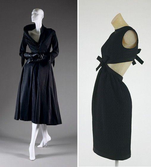 Сороковые и шестидесятые, Кристиан Диор и Ив Сен-Лоран, шёлк и букле, асимметрия и безумная, безумная элегантность.