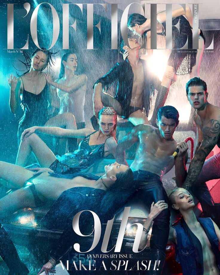 Lights camera SPLASH! | L'Officiel Singapore (@lofficielsingapore) has just released its March 2016 9th anniversary issue and to help them celebrate this amazing achievement FPA has officially partnered-up with the great publication to show you the results of their current (and future) immaculate work alongside various creative individuals | Models @mengmacecelia Millicent Rose (@millicentcantrall) Diego Eduardos (@diegoeduardos) Taylor Wiles (@taylorcwiles) Lera (@lerakapkaikina) Luiz Piva…