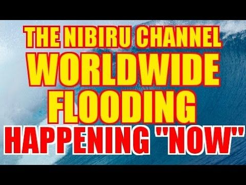 "WORLDWIDE FLOODING..""HAPPENING NOW!"""