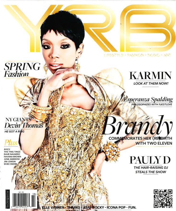 d.brand Party Pics in the New YRB Magazine Elle varner