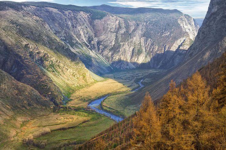 Долина Чулышман.