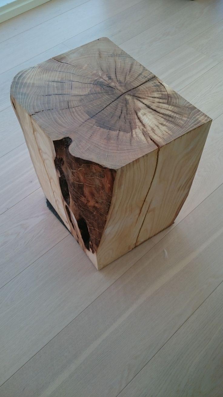 Træstub tilpasset til stur bord