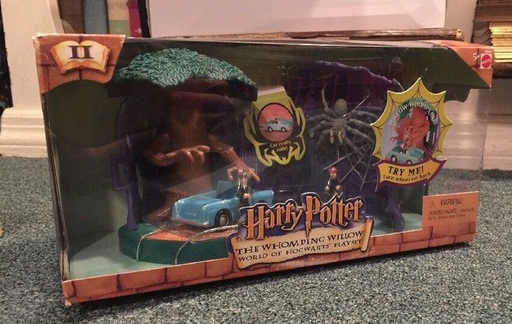 Harry Potter World of Hogwarts Whomping Willow Playset by Mattel 2001 MIB SEALED    eBay