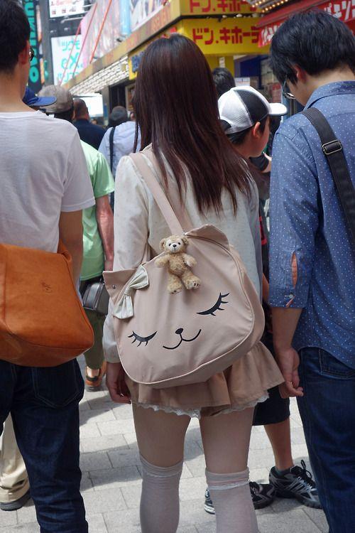 ninetail-fox:  an akiba girl ,Akihabara