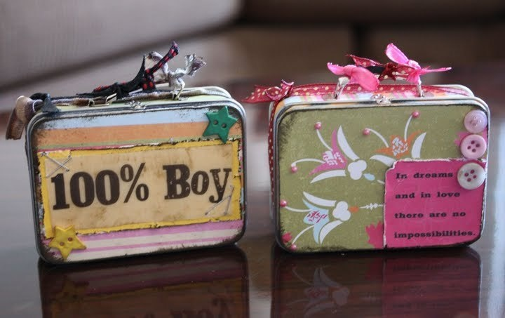 altered Altoids tins