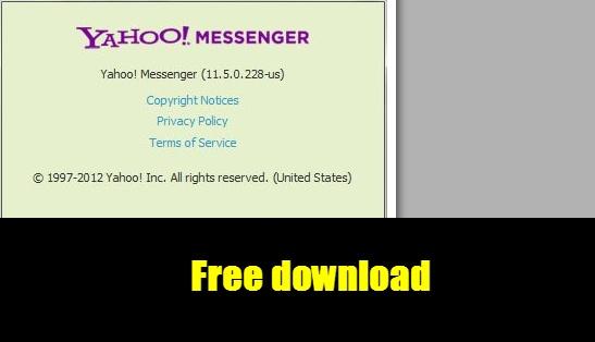 [Freeware] Yahoo! Messenger 11.5.0.228 Offline install