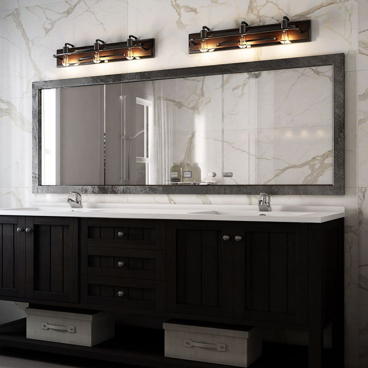 The Art Gallery The Lofty Light Vanity Light bines hard and soft in an elegant and sophisticated way