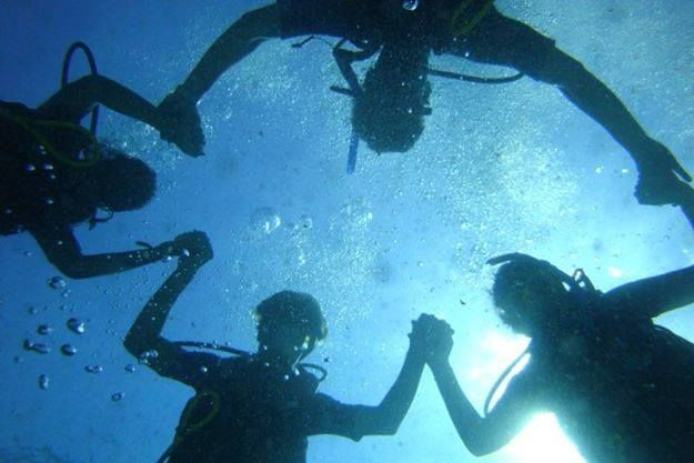 PADI Open Water Diver Certification in Cancun with Diving Center Cancun #Diving #Cancun