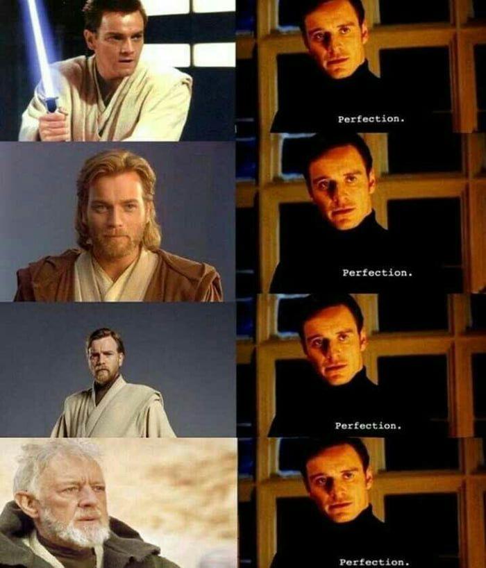 And Now Obi Wan Kenobi Is Silently Judging You Obi Wankenobi Meme Starwarsmeme Star Wars Memes Star Wars Humor Star Wars Obi Wan