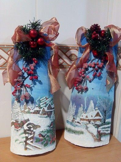 Unas tejas navideñas para regalar