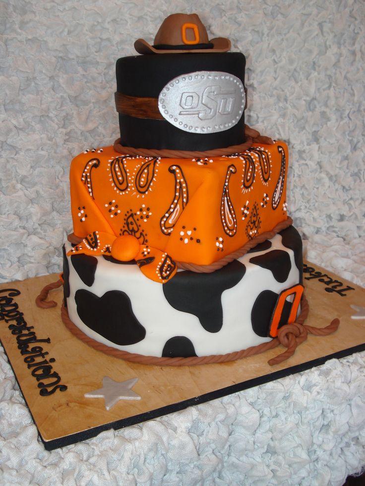 Oklahoma State University Cake